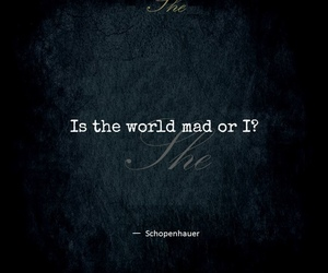 mad and quote image
