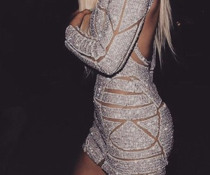 kylie jenner, dress, and style image