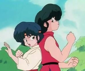 anime, ranma, and akane image
