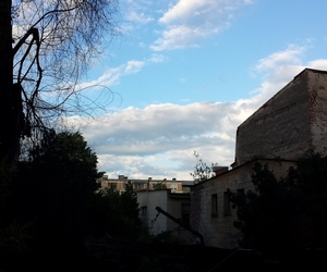 blue, Houses, and nature image