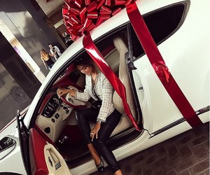 car, luxury life, and girl image