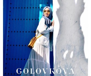 Greece, trendy girl, and hijab fashion image