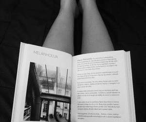 blackandwhite, books, and dreamy image