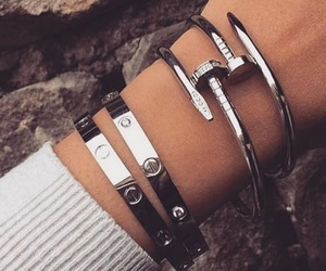 accessories, cartier, and choker image