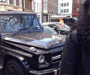 benz, cars, and london image