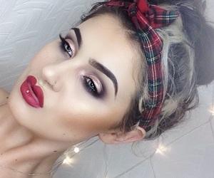 beautiful, girl, and haïr image