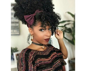 hair, curl, and curly image