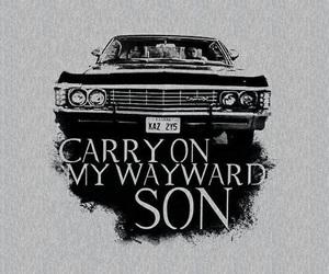 supernatural, wallpaper, and impala image