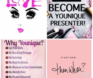 makeup, younique, and boss babe image