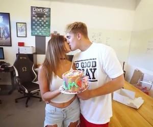 couple, erica, and kiss image