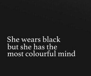 black, quotes, and colorful image