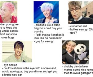 daesung, meme, and seungri image