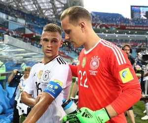 germany nt, joshua kimmich, and marc-andre ter stegen image