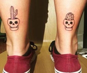 cactus, tattoo, and mexican image