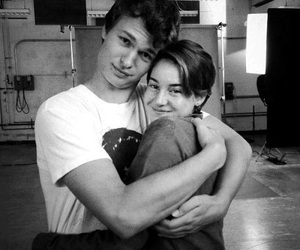 tfios, couple, and ansel elgort image