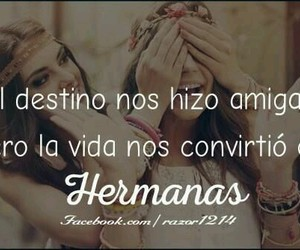 amigas, frases, and amistad image