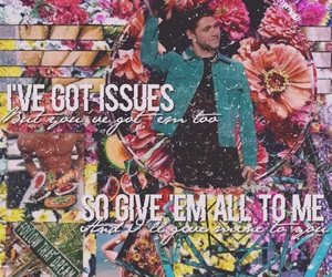 edit, niall horan, and issues image