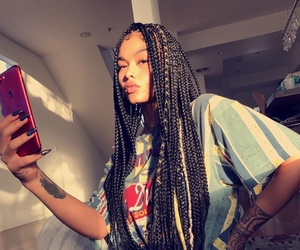 hair, india love, and iphone image