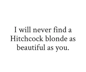 Hitchcock, movie, and quote image