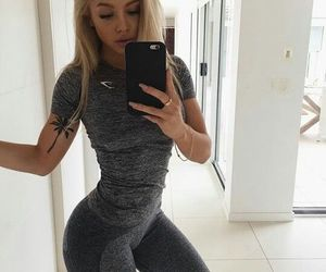 body, tammy hembrow, and blonde image