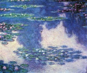 claude monet, monet, and water lilies image