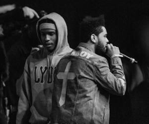 the weeknd, abel tesfaye, and asap rocky image