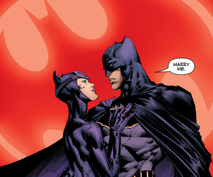 batman, bruce wayne, and catwoman image