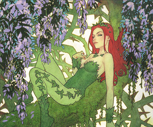poison ivy and dc comics image