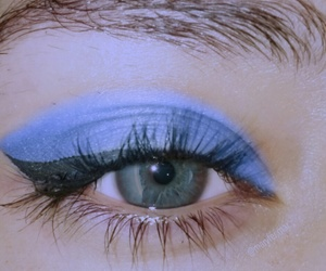 azul, blue, and eyes image