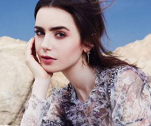 beauty and lily collins image