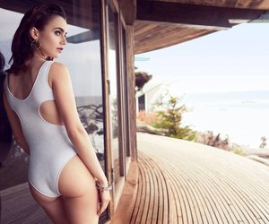 beauty, lily collins, and girl image