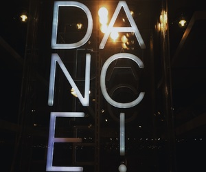 aesthetic, dance, and lights image