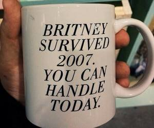 britney spears, funny, and mug image