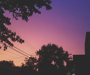Long Island, purple, and sky image