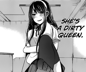 manga, Queen, and lewd image