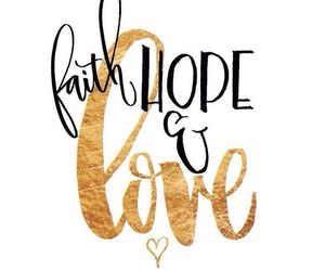 faith and love image