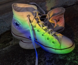 converse and rainbow image
