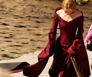 game of thrones, cersei lannister, and dress image