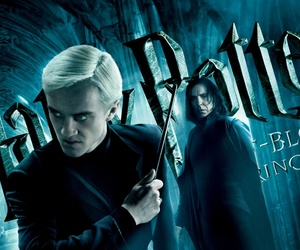 harry potter, draco malfoy, and wallpaper image