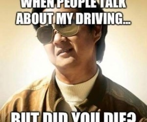 funny, driving, and lol image