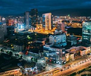 cities, lights, and night image