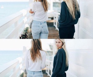 style, alexisren, and friendship image