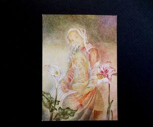 three flowers image