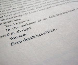 book, death, and quote image