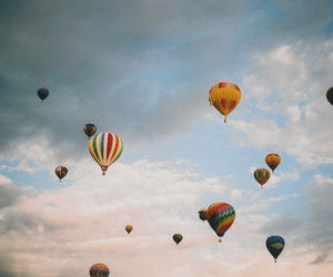 sky, balloons, and photography image