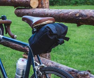 bicycle, bike bag, and cycling bag image