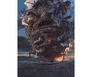 ghibli, ハウルの動く城, and ジブリ image