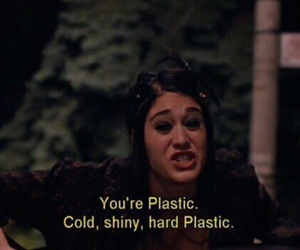 mean girls, plastic, and quotes image