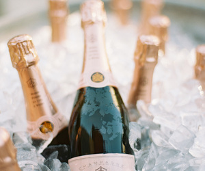 champagne, alcohol, and drinks image