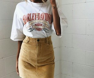 harley davidson, fashion, and girl image